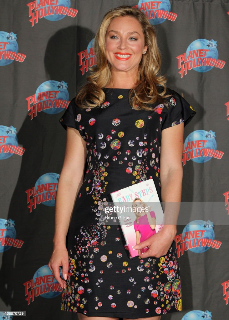 Elisabeth Rohm celebrates her new book 'Baby Steps: Having the Child I Always Wanted (Just Not as I Expected)'at Planet Hollywood Times Square on May 15, 2013 in New York City.