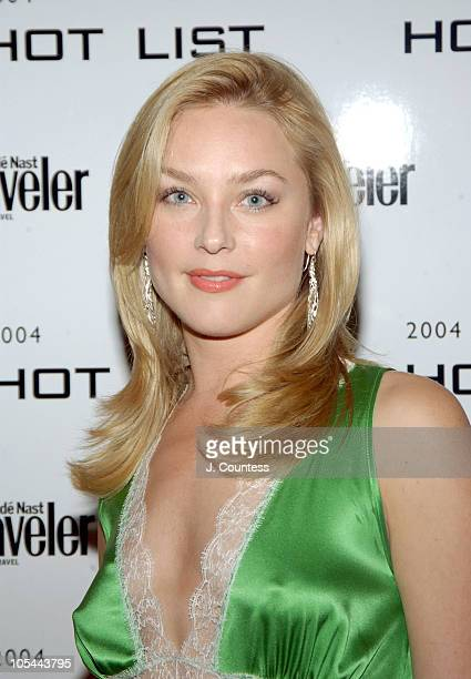 Elisabeth Rohm during Conde Nast Traveler Hot List Party Outside Arrivals at Hotel Gansevoort in New York City New York United States