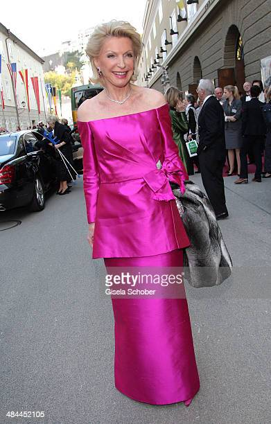 Elisabeth Schaeffler attends the opening of the easter festival 2014 on April 12 2014 in Salzburg Austria