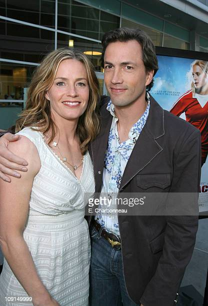 Elisabeth Shue and Andrew Shue during Picturehouse 'Gracie' Los Angeles Premiere at Arclight Cinemas in Hollywood California United States