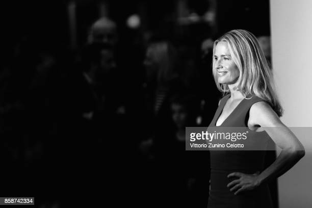 Elisabeth Shue attends the American Express Gala European Premiere of 'Battle of the Sexes' during the 61st BFI London Film Festival on October 7...