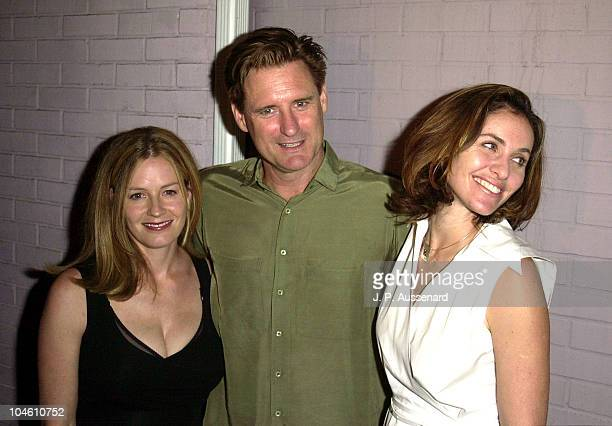 Elisabeth Shue Bill Pullman Amy Brenneman during Cornerstone Theater Company 2nd Bridge Awards at The Derby in Los Feliz California United States