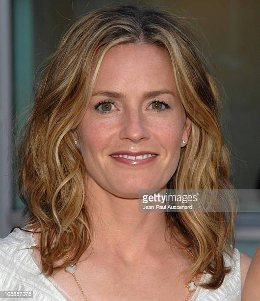 Elisabeth Shue during 'Gracie' Los Angeles Premiere Arrivals at ArcLight Theaters in Hollywood California United States