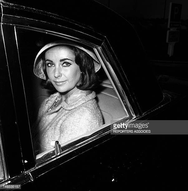 Elisabeth Taylor in the fifties France