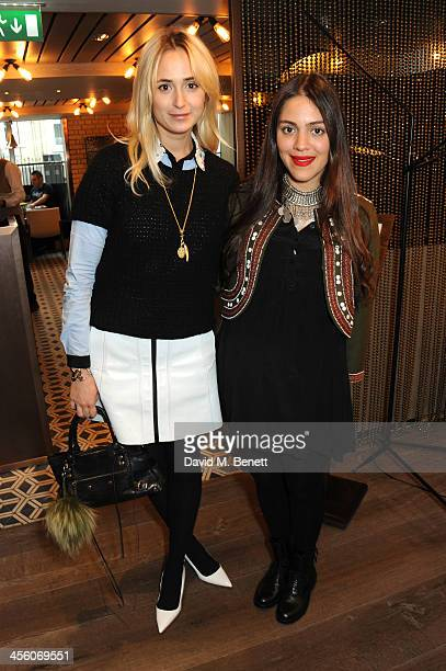 Elisabeth Thurn und Taxis and Dana Alikhani attend a party organised by the fashion brand Muzungu sisters at Pont St restaurant on December 13 2013...