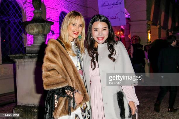 Elisabeth von Thurn und Taxis and Wendy Yu attend the Thurn Taxis Castle Festival 2017 'Aida' Opera Premiere on July 14 2017 in Regensburg Germany