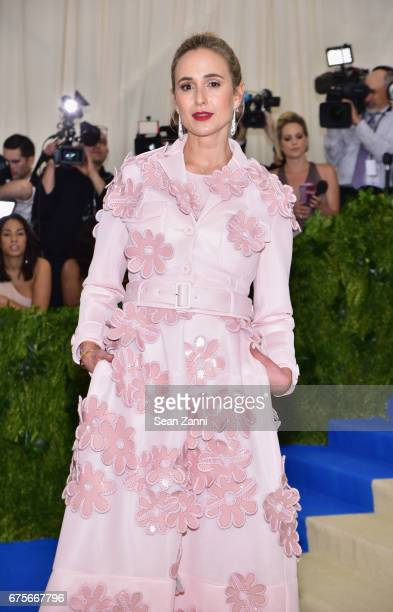 Elisabeth von Thurn und Taxis arrives at 'Rei Kawakubo/Comme des Garcons Art Of The InBetween' Costume Institute Gala at The Metropolitan Museum on...