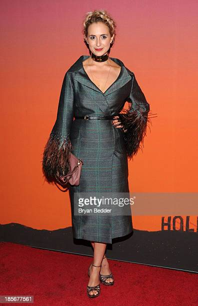 Elisabeth von Thurn und Taxis arrives for the Whitney Museum of American Art Gala Studio Party 2013 Supported By Louis Vuitton at Skylight at...