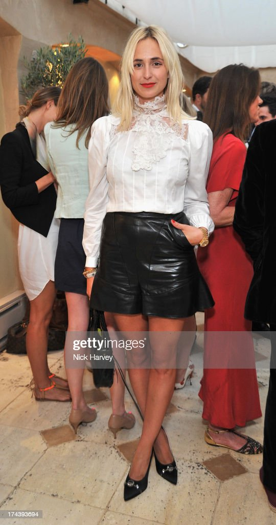Elisabeth von Thurn und Taxis attend Daphne's evening of dinner & dancing at Daphne's on July 24, 2013 in London, England.