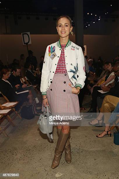 Elisabeth von Thurn und Taxis attend the Creatures Of The Wind fashion show during Spring 2016 New York Fashion Week at SIR Stage37 on September 10...