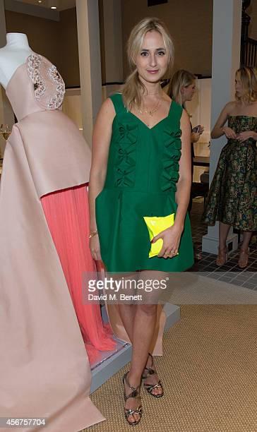 Elisabeth Von Thurn und Taxis attends a dinner to celebrate luxury Spanish fashion house Delpozo hosted by Poppy Delevingne at Moda Operandi on...