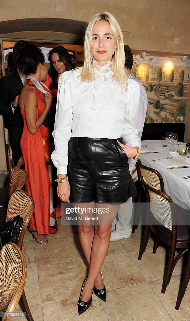 Elisabeth von Thurn und Taxis attends an evening of dinner and dancing at Daphne's on July 24, 2013 in London, England.