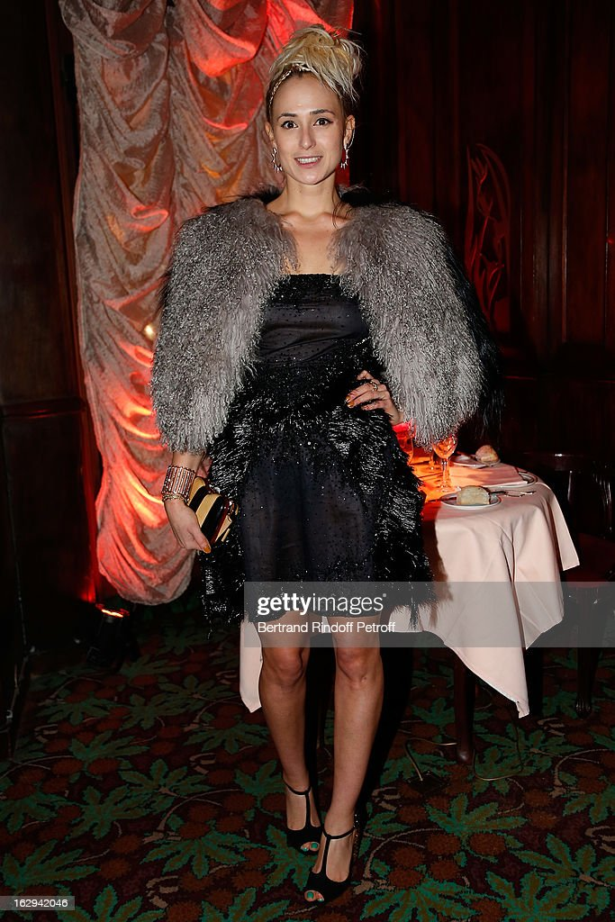 Elisabeth von Thurn und Taxis attends Pierre Pelegry's birthday party at Maxim's on March 1, 2013 in Paris, France.