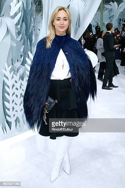 Elisabeth von Thurn und Taxis attends the Chanel show as part of Paris Fashion Week Haute Couture Spring/Summer 2015 on January 27 2015 in Paris...