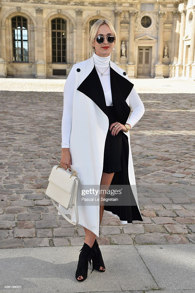 Elisabeth von Thurn und Taxis attends the Christian Dior show as part of the Paris Fashion Week Womenswear Spring/Summer 2015 on September 26 2014 in...