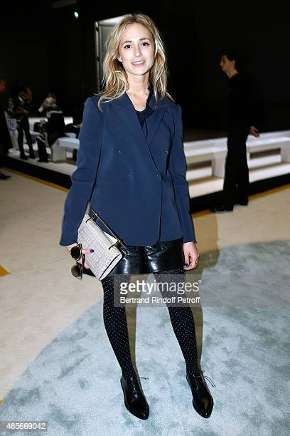 Elisabeth Von Thurn und Taxis attends the Giambattista Valli show as part of the Paris Fashion Week Womenswear Fall/Winter 2015/2016 on March 9 2015...