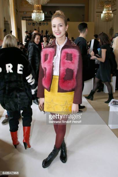 Elisabeth von Thurn und Taxis attends the Giambattista Valli show as part of the Paris Fashion Week Womenswear Fall/Winter 2017/2018 on March 6 2017...