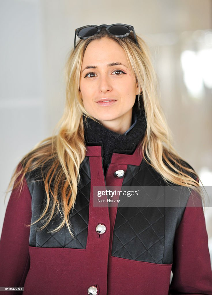Elisabeth von Thurn und Taxis attends the Kinder Aggugini salon show during London Fashion Week Fall/Winter 2013/14 at on February 17, 2013 in London, England.