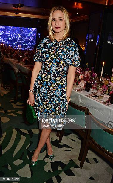 Elisabeth von Thurn und Taxis attends the launch of the new Venyx Oseanyx collection hosted by Eugenie Niarchos and Lucy Yeomans at Sexy Fish on...