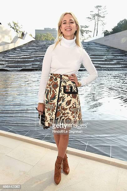 Elisabeth von Thurn und Taxis attends the Louis Vuitton show as part of the Paris Fashion Week Womenswear Spring/Summer 2015 on October 1 2014 in...