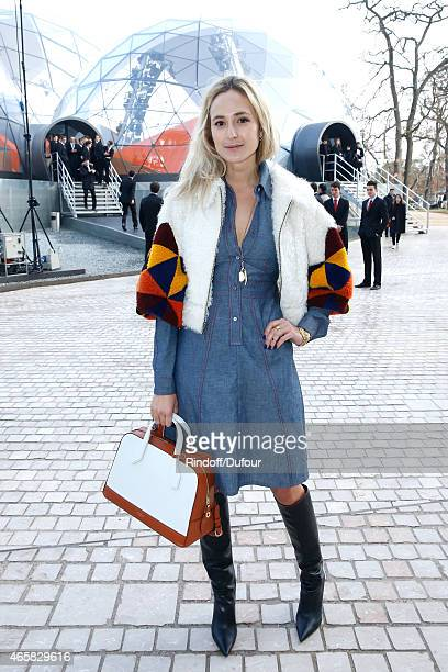 Elisabeth von Thurn und Taxis attends the Louis Vuitton show as part of the Paris Fashion Week Womenswear Fall/Winter 2015/2016 on March 11 2015 in...