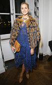 Elisabeth von Thurn und Taxis attends the party for Dasha Zhukova' cover for Wall Street Journal on January 27 2015 in Paris France