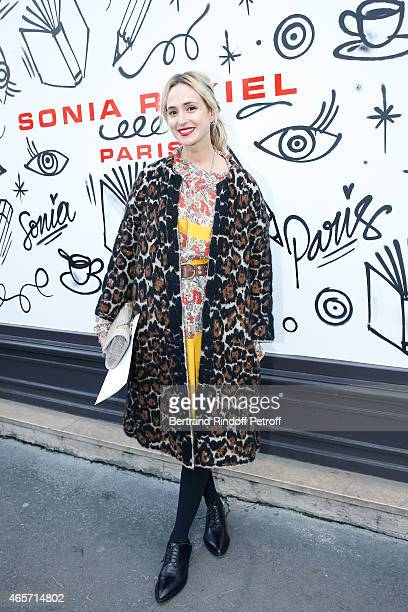 Elisabeth von Thurn und Taxis attends the Sonia Rykiel show as part of the Paris Fashion Week Womenswear Fall/Winter 2015/2016 on March 9 2015 in...
