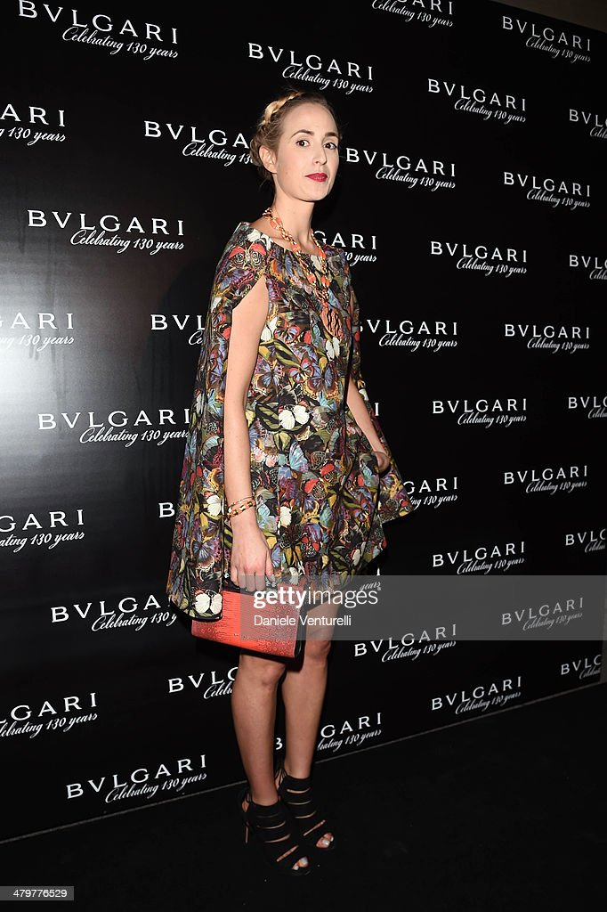 Elisabeth von Turn und Taxis attends 'Bvlgari Celebrates 130 Years In Rome' at Via Condotti on March 20, 2014 in Rome, Italy.
