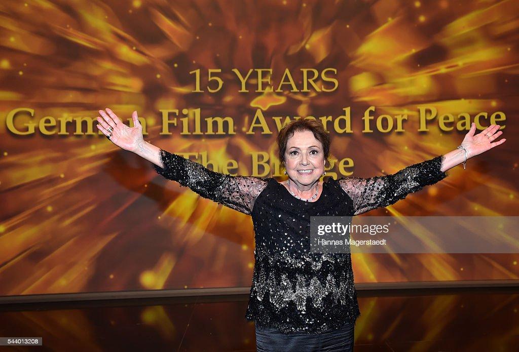 Elisabeth Wicki-Endriss attends the Bernhard Wicki Award (Friedenspreis des Deutschen Films) during the Munich Film Festival 2016 at Cuvilles Theatre on June 30, 2016 in Munich, Germany.