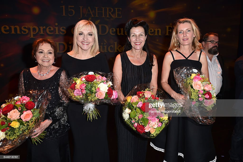Elisabeth Wicki-Endriss, Beate Merk, Bettina Reitz and <a gi-track='captionPersonalityLinkClicked' href=/galleries/search?phrase=Maria+Furtwaengler&family=editorial&specificpeople=2135673 ng-click='$event.stopPropagation()'>Maria Furtwaengler</a> attend the Bernhard Wicki Award (Friedenspreis des Deutschen Films) during the Munich Film Festival 2016 at Cuvilles Theatre on June 30, 2016 in Munich, Germany.