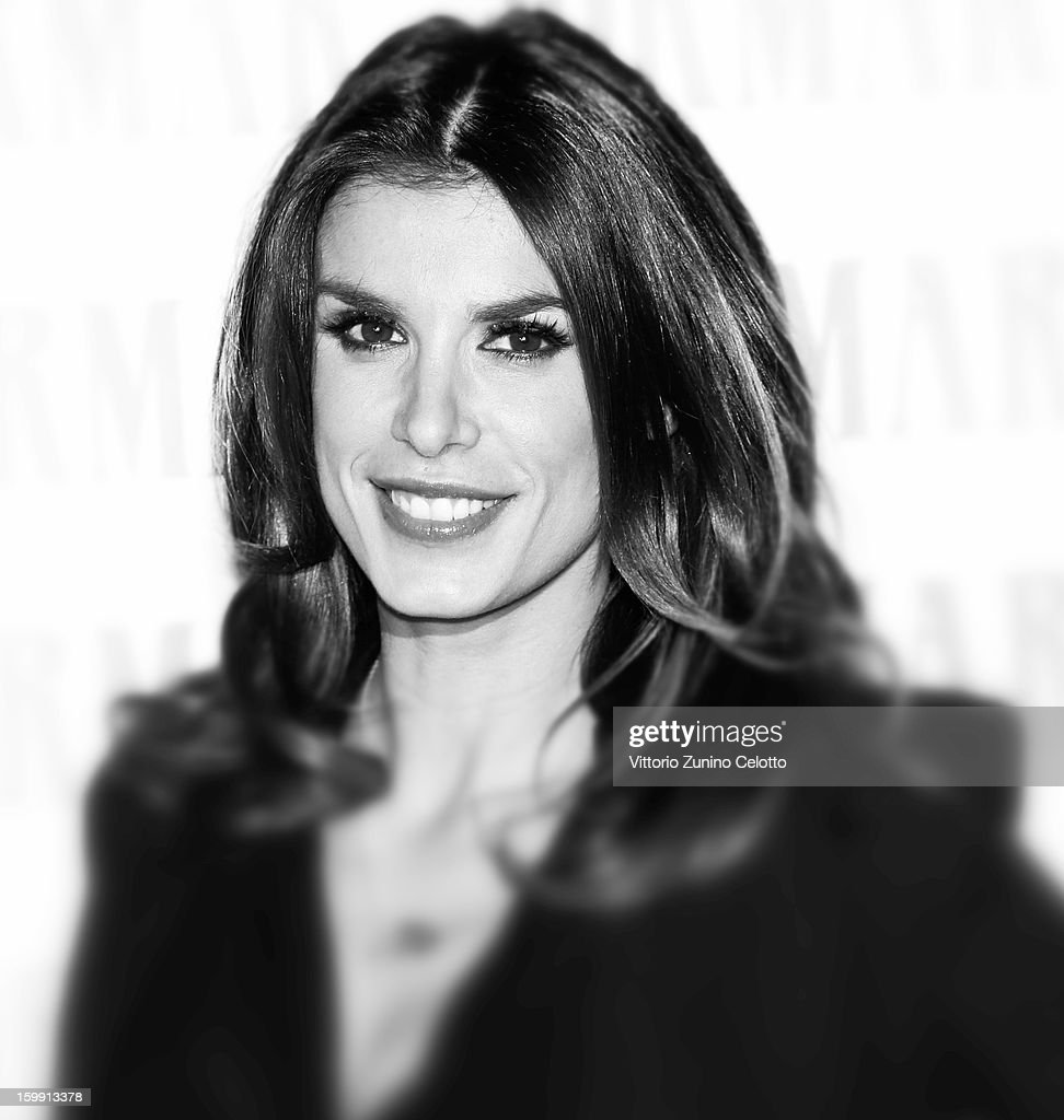 <a gi-track='captionPersonalityLinkClicked' href=/galleries/search?phrase=Elisabetta+Canalis&family=editorial&specificpeople=2292377 ng-click='$event.stopPropagation()'>Elisabetta Canalis</a> attends a photocall at Hotel Sheraton Diana Majestic on January 22, 2013 in Milan, Italy.