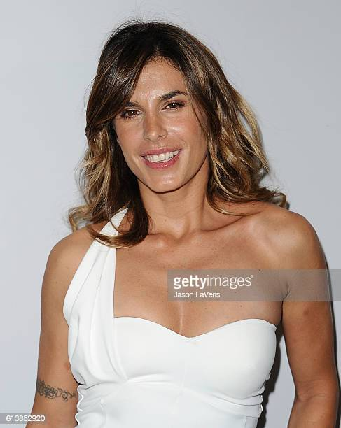 Elisabetta Canalis attends Men's Fitness Game Changers celebration at Sunset Tower Hotel on October 10 2016 in West Hollywood California