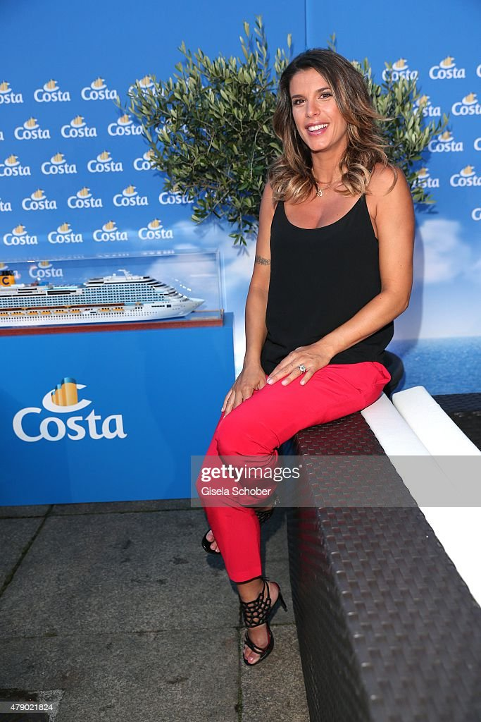 Elisabetta Canalis attends the Movie meets Media party during the Munich Film Festival on June 29 2015 in Munich Germany