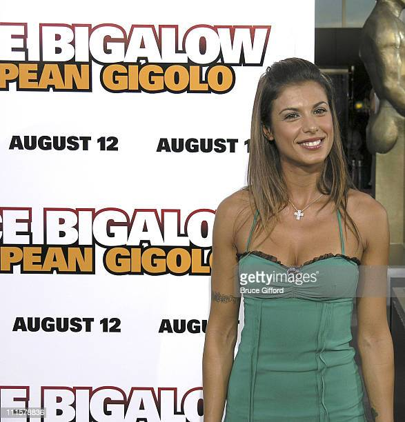 Elisabetta Canalis during 'Deuce Bigalow European Gigolo' Las Vegas Premiere at Palms Casino Resort in Las Vegas Nevada United States
