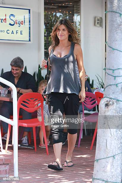 Elisabetta Canalis is seen on August 17 2015 in Los Angeles California