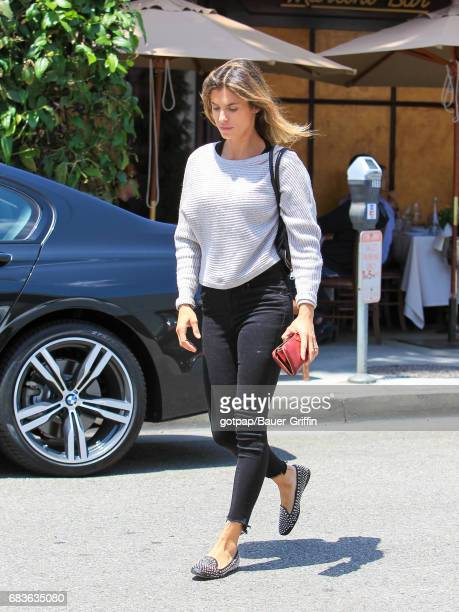 Elisabetta Canalis is seen on May 15 2017 in Los Angeles California