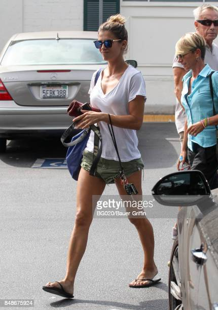 Elisabetta Canalis is seen on September 17 2017 in Los Angeles California
