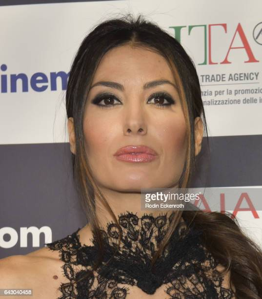 Elisabetta Gregoraci attends 12th Edition Of The Los Angeles Italia Film Fashion And Art Fest at TCL Chinese 6 Theatres on February 19 2017 in...