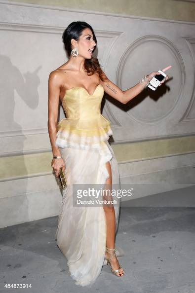 Elisabetta Gregoraci attends 'Celebrity Fight Night In Italy' Gala at the Palazzo Vecchio on September 7 2014 in Florence Italy