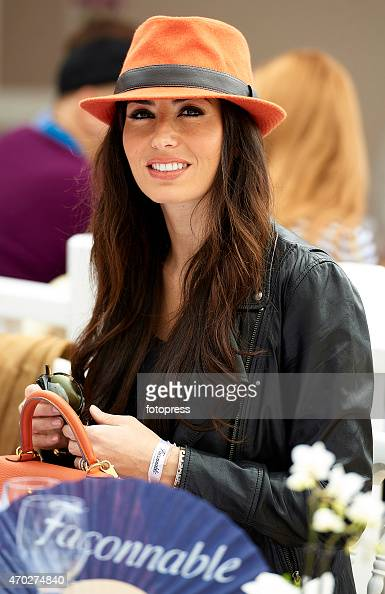 Elisabetta Gregoraci attends the ATP Masters Series Rolex at MonteCarlo Sporting Club on April 18 2015 in MonteCarlo Monaco on April 18 2015 in...