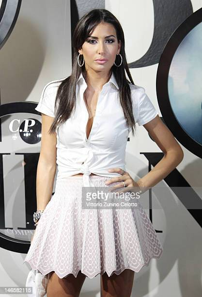 Elisabetta Gregoraci attends the CP Company presentation during the Pitti Immagine Uomo 82 on June 20 2012 in Florence Italy