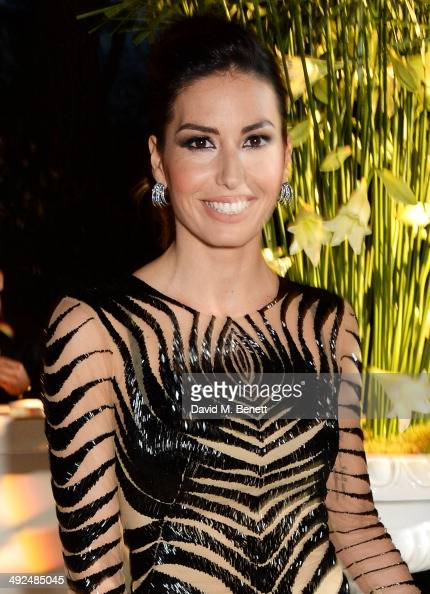 Elisabetta Gregoraci attends the de Grisogono 'Fatale In Cannes' party during the 67th Cannes Film Festival at Hotel du CapEdenRoc on May 20 2014 in...