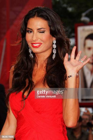 Elisabetta Gregoraci attends the Opening Ceremony and 'Baaria' Premiere at the Sala Grande during the 66th Venice International Film Festival on...