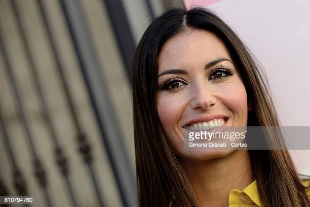 Elisabetta Gregoraci testimonial of the campaign attends the The Italian League for the Fight against Cancer presentation of LILT for Women campaign...