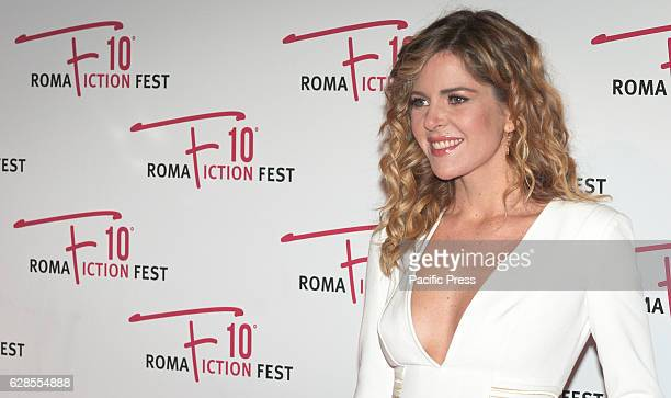 Elisabetta Pellini attend at the Red Carpet of 'In art Nino' presented at the Roma Fiction Fest 2016