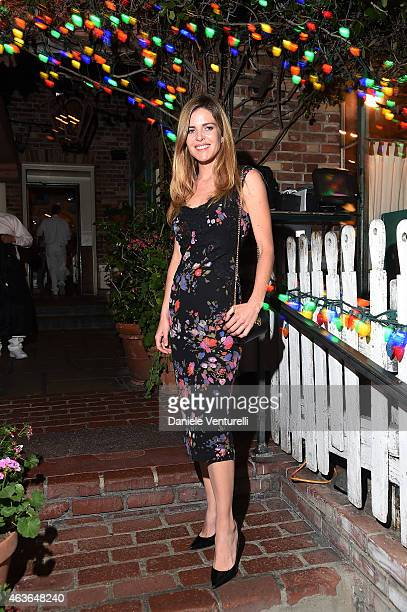 Elisabetta Pellini attends AMBI PICTURES Dinner Party during the Los Angeles Italia on February 16 2015 in Los Angeles California