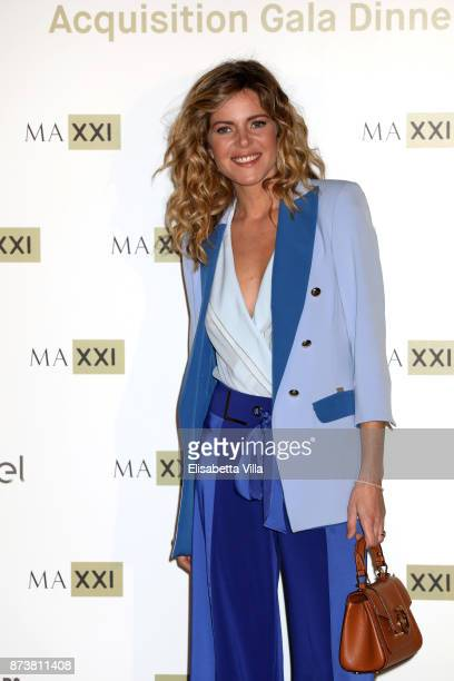 Elisabetta Pellini attends MAXXI Acquisition Gala Dinner 2017 at Maxxi on November 13 2017 in Rome Italy