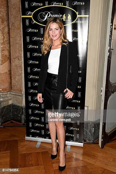 Elisabetta Pellini attends Premio Margutta 2016 on October 15 2016 in Rome Italy