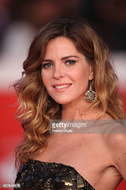 Elisabetta Pellini attends the Award Ceremony Red Carpet during the 9th Rome Film Festival on October 25 2014 in Rome Italy