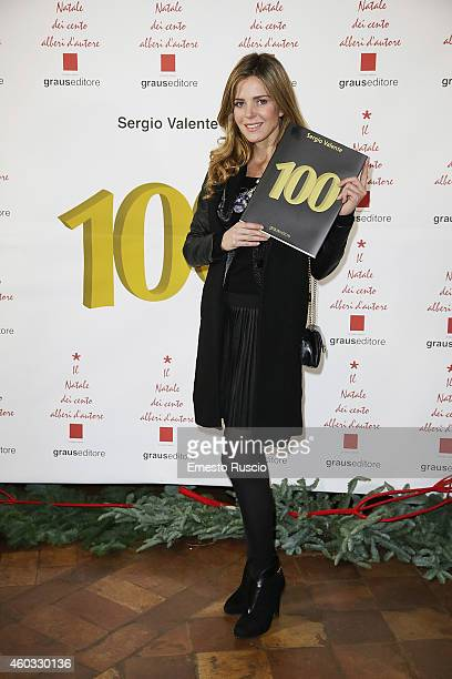 Elisabetta Pellini attends the 'Il Natale Dei 100 Alberi d'Autore 100 Christmas Trees By Designers' benefit night at Palazzo Torlonia on December 11...